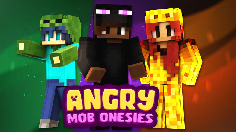 Angry Mob Onesies on the Minecraft Marketplace by Impulse