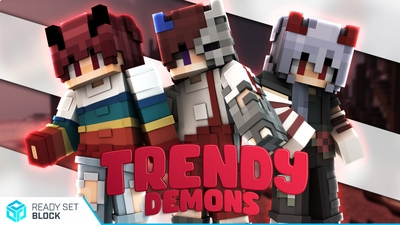 Trendy Demons on the Minecraft Marketplace by Ready, Set, Block!