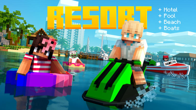 Resort on the Minecraft Marketplace by BLOCKLAB Studios