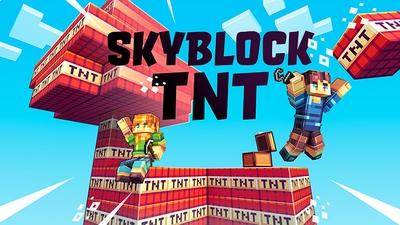 Skyblock TNT on the Minecraft Marketplace by Blocky