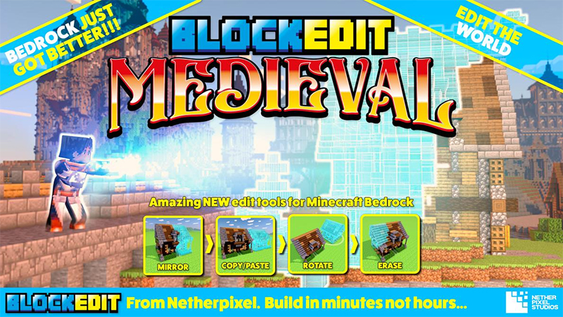Blockedit Medieval on the Minecraft Marketplace by Netherpixel
