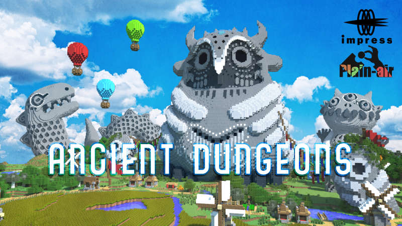 Ancient Dungeons on the Minecraft Marketplace by Impress
