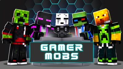 Gamer Mobs on the Minecraft Marketplace by The Lucky Petals