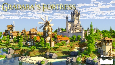 Gradaras Fortress on the Minecraft Marketplace by Diluvian