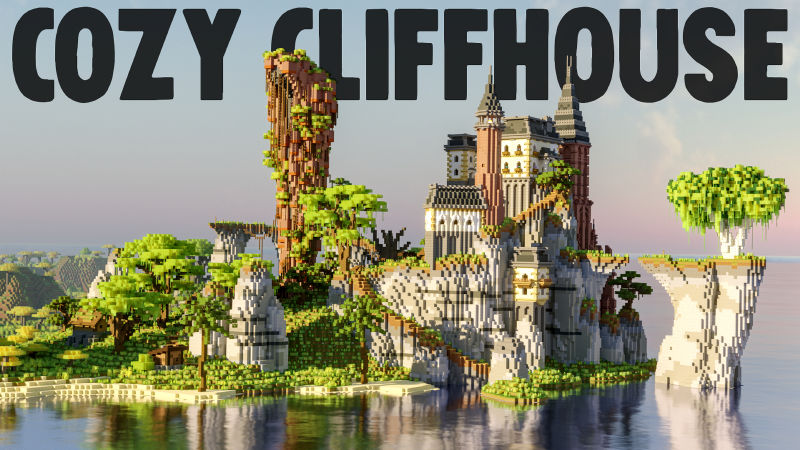 Cozy Cliffhouse on the Minecraft Marketplace by BLOCKLAB Studios