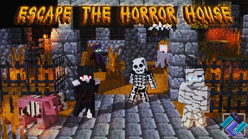 Escape the Horror House on the Minecraft Marketplace by PixelOneUp