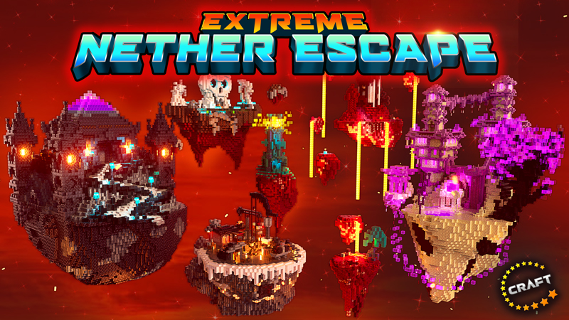 Extreme Nether Escape on the Minecraft Marketplace by The Craft Stars