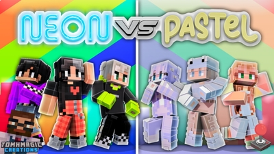 Neon vs Pastel Fashion on the Minecraft Marketplace by Tomhmagic Creations
