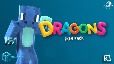 Dragons on the Minecraft Marketplace by Black Arts Studio