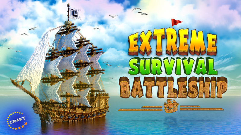 Extreme Survival Battleship on the Minecraft Marketplace by The Craft Stars
