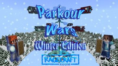 Parkour Wars Winter Edition on the Minecraft Marketplace by The Rage Craft Room