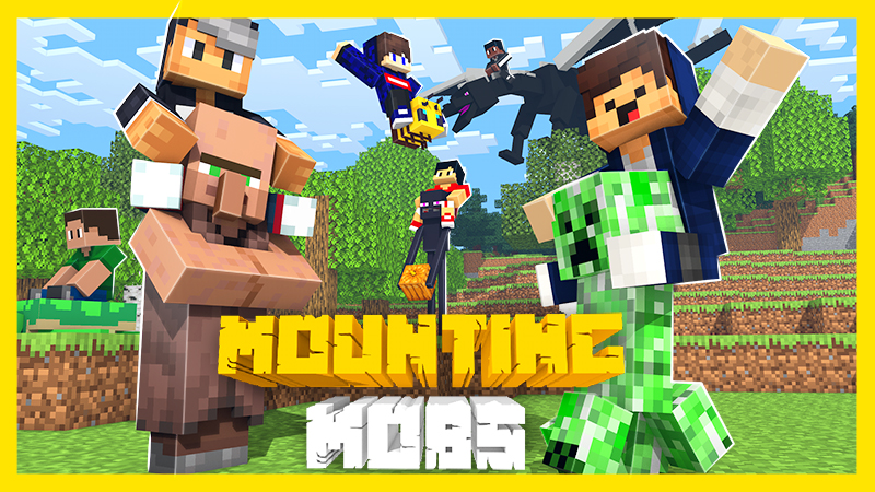 Mounting Mobs on the Minecraft Marketplace by IriumBT