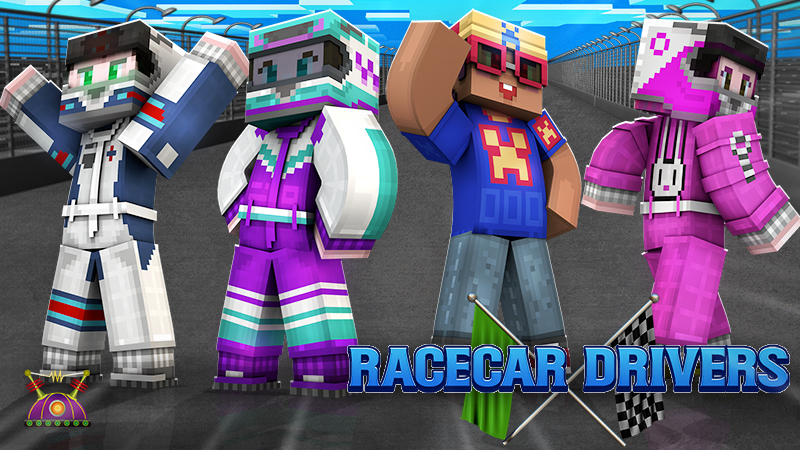 Racecar Drivers on the Minecraft Marketplace by Cleverlike