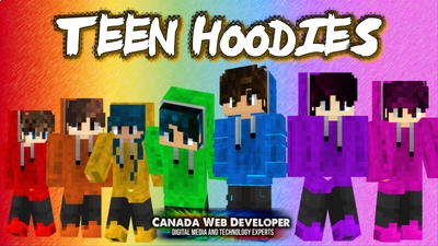 Teen Hoodies on the Minecraft Marketplace by Canada Web Developer