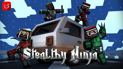 Stealthy Ninja on the Minecraft Marketplace by Giggle Block Studios