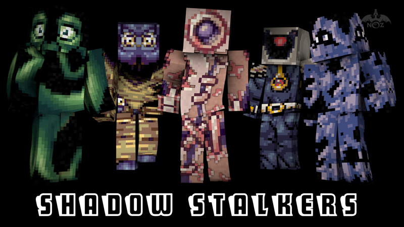 Shadow Stalkers on the Minecraft Marketplace by Dragnoz