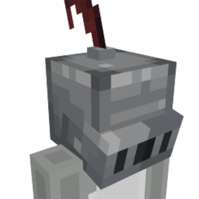 Knight helmet on the Minecraft Marketplace by Mine-North
