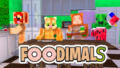 Foodimals on the Minecraft Marketplace by Zombeanie