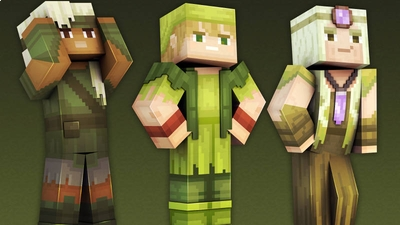 Woodland Elves on the Minecraft Marketplace by 57Digital