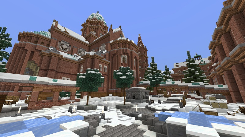 Winter Asylum on the Minecraft Marketplace by Nitric Concepts