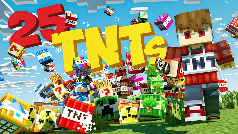 25 TNTs  on the Minecraft Marketplace by BBB Studios