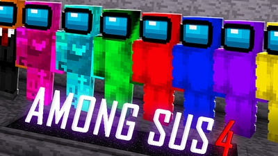 Among Sus 4 on the Minecraft Marketplace by The Lucky Petals