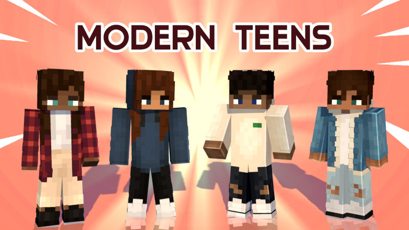 Modern Teens on the Minecraft Marketplace by Tomaxed