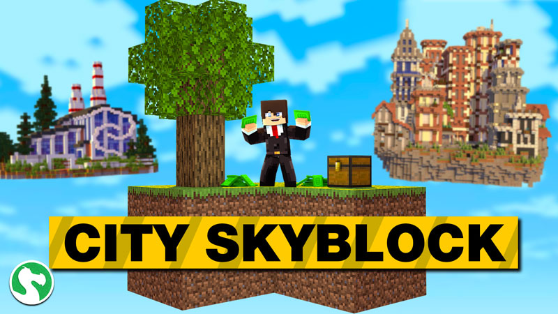 City Skyblock on the Minecraft Marketplace by Dodo Studios
