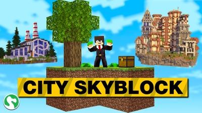 City Skyblock on the Minecraft Marketplace by Dodo Studios