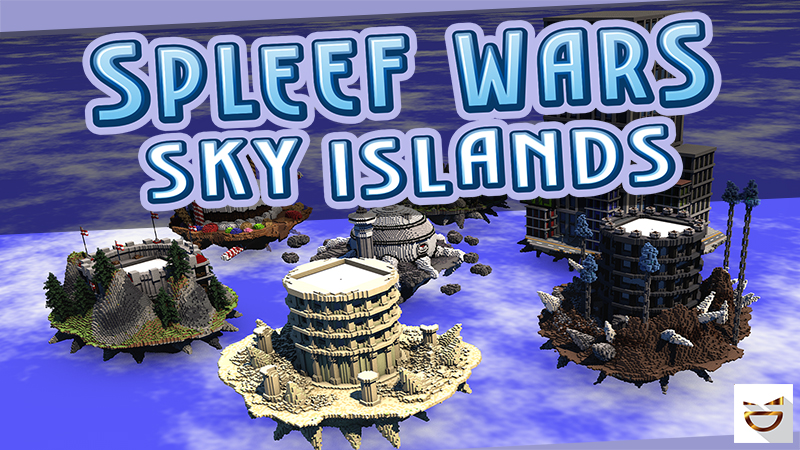 Spleef Wars Sky Islands on the Minecraft Marketplace by Giggle Block Studios