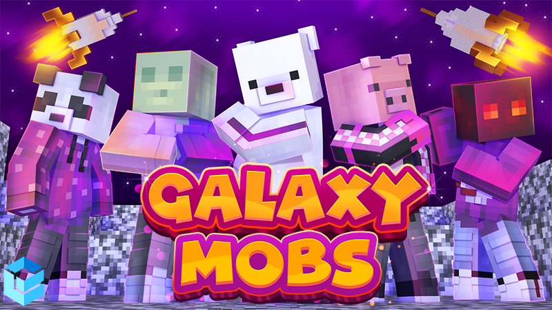 Galaxy Mobs on the Minecraft Marketplace by Entity Builds