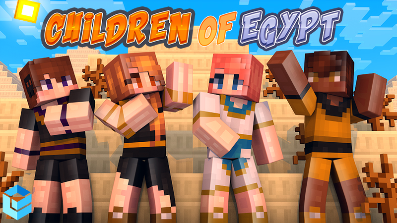 Children of Egypt on the Minecraft Marketplace by Entity Builds