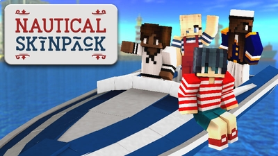 Nautical Skin Pack on the Minecraft Marketplace by Impulse