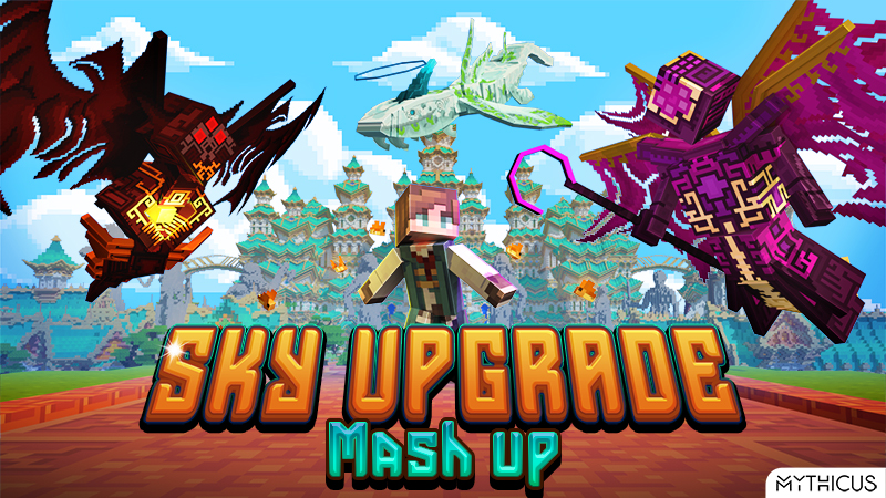 Sky Upgrade Mashup on the Minecraft Marketplace by Mythicus