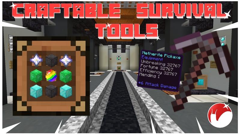 Craftable Survival Tools