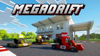 Megadrift on the Minecraft Marketplace by Norvale