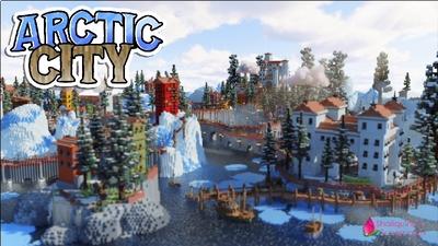 Arctic City on the Minecraft Marketplace by Shaliquinn's Schematics