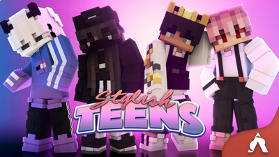 Stylish Teens on the Minecraft Marketplace by Atheris Games