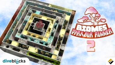Parkour Runner Biomes 2 on the Minecraft Marketplace by Diveblocks