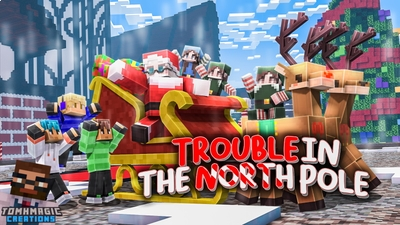 Trouble in the North Pole on the Minecraft Marketplace by Tomhmagic Creations