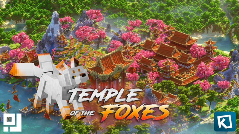 Temple of the Foxes on the Minecraft Marketplace by inPixel