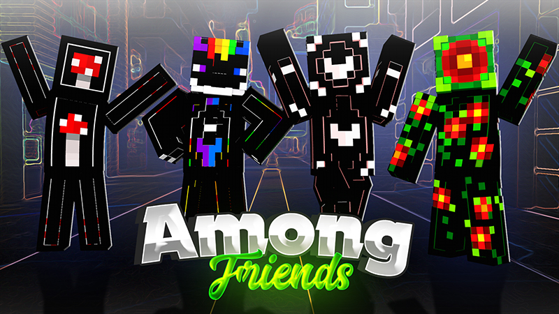 Among Friends on the Minecraft Marketplace by The Lucky Petals