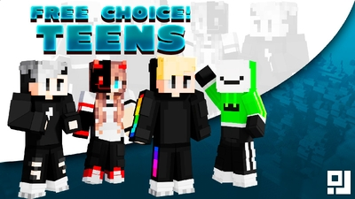 Free Choice Teens on the Minecraft Marketplace by inPixel