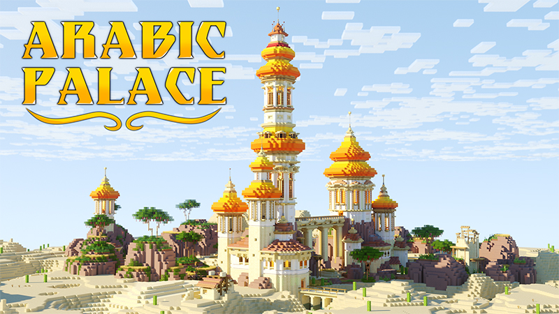 Arabic Palace on the Minecraft Marketplace by Diluvian