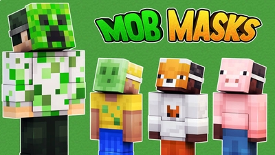Mob Masks on the Minecraft Marketplace by 57Digital