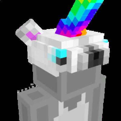 Unicorn Helmet on the Minecraft Marketplace by 4KS Studios