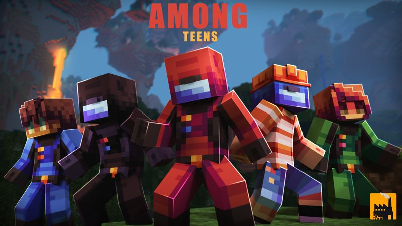 Among Teens on the Minecraft Marketplace by Block Factory