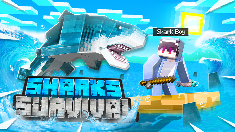 Sharks Survival on the Minecraft Marketplace by Kubo Studios