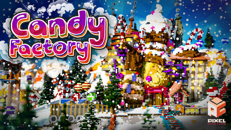 Candy Factory on the Minecraft Marketplace by BLOCKLAB Studios