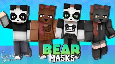 Bear Masks HD Skin Pack on the Minecraft Marketplace by CupcakeBrianna